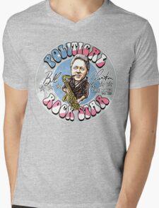 Bill Clinton Political Rock Star Mens V-Neck T-Shirt