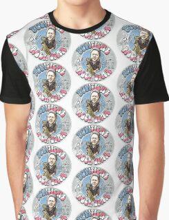 Bill Clinton Political Rock Star Graphic T-Shirt