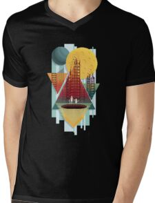 Transitional Salvation Mens V-Neck T-Shirt