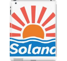 SOLANA BENIDORM CULT BRITISH TV iPad Case/Skin
