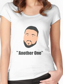 DJ Khaled, another one Women's Fitted Scoop T-Shirt