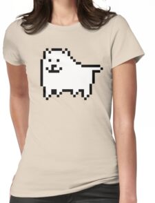 Undertale Annoying Dog Womens Fitted T-Shirt