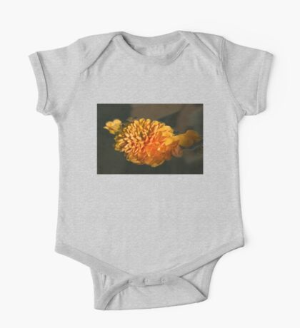 Chrysanthemum Gently Floating in the Fountain of Campo de Fiori, Rome, Italy One Piece - Short Sleeve