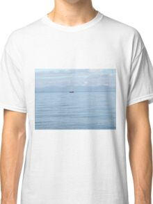 Boat On The Water Classic T-Shirt