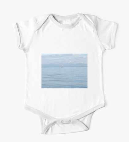 Boat On The Water One Piece - Short Sleeve