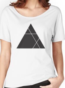 Geometric Triangle 1 Women's Relaxed Fit T-Shirt