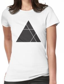 Geometric Triangle 1 Womens Fitted T-Shirt
