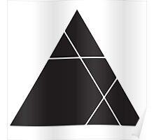 Geometric Triangle 1 Poster