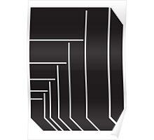 Geometric Rectangle 1 Poster
