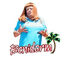 BENIDORM CULT BRITISH TV Photographic Print
