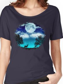 Dreamy Night Women's Relaxed Fit T-Shirt