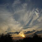 Sunset from our property April 2011 by CrismanArt