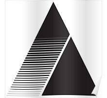 Geometric Triangle 2 Poster
