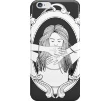 more than meets the eye (b&w) iPhone Case/Skin