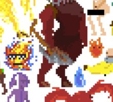 Pixel Art Characters! Sticker