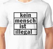 Kein Mensch ist illegal Unisex T-Shirt