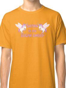 satan is my sugar daddy Classic T-Shirt