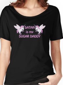 satan is my sugar daddy Women's Relaxed Fit T-Shirt