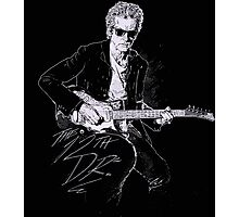 The Twelfth Doctor Dr. Who Quote Photographic Print