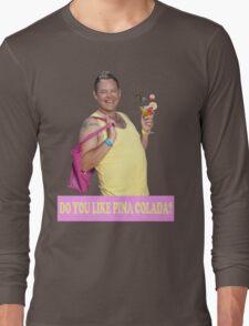 KEITH HAIRDRESSER BENIDORM PINA COLADA CULT BRITISH TV TONY MAUDSLEY Long Sleeve T-Shirt
