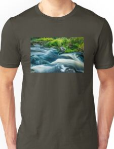 The River Flows On (...as life flows on) Unisex T-Shirt