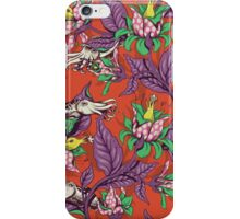 The Sea Garden - retro pop iPhone Case/Skin