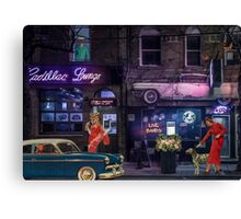 CADILLAC LOUNGE  Canvas Print