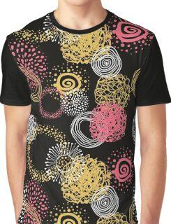 circles abstract seamless pattern  Graphic T-Shirt