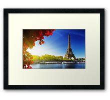 Tour Eiffel Tower Framed Print