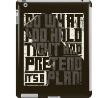 Do What I Do Dr. Who Quote iPad Case/Skin