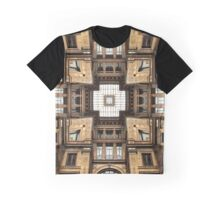 Architectural Sky Light Structure Graphic T-Shirt