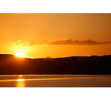 An Irish sunrise Photographic Print