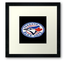 blue jays logo Framed Print