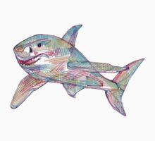 Shark drawing - 2011 Baby Tee