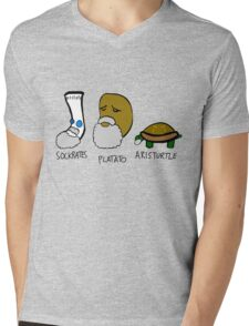 Philostuffers Mens V-Neck T-Shirt