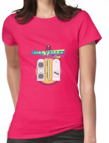 Hill Valley Hoverboards Womens Fitted T-Shirt