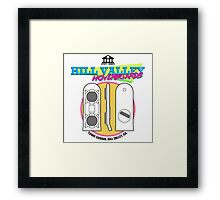 Hill Valley Hoverboards Framed Print