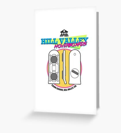 Hill Valley Hoverboards Greeting Card