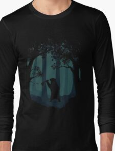 Meanwhile, in the woods... Long Sleeve T-Shirt