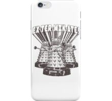Exterminate! Dr. Who Quote iPhone Case/Skin