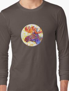 Moose drawing - 2011 Long Sleeve T-Shirt