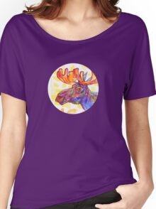 Moose drawing - 2011 Women's Relaxed Fit T-Shirt