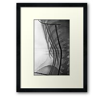 Corset X-Ray Framed Print