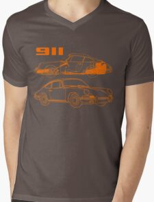 retro 911 Mens V-Neck T-Shirt