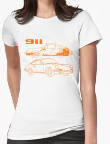 retro 911 Womens Fitted T-Shirt