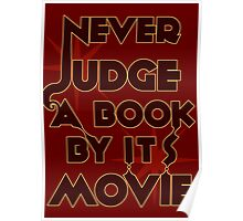 Never Judge A Book By Its Movie Poster