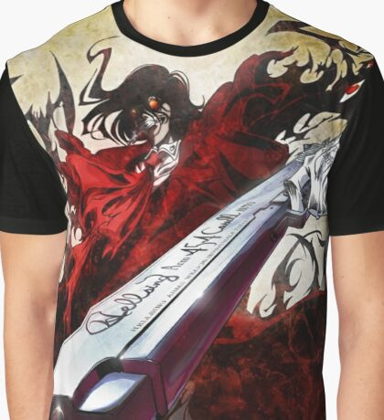 HoboArtist: HELLSING Graphic T-Shirt