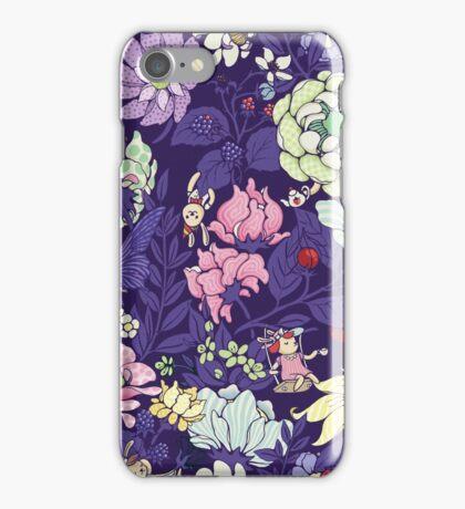 The Garden Party - blueberry tea version iPhone Case/Skin