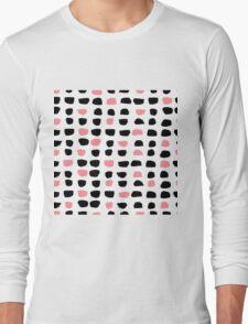 Dry Brush Stroke  Long Sleeve T-Shirt