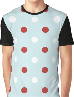 Vintage seamless xmas pattern with Polka dots Graphic T-Shirt